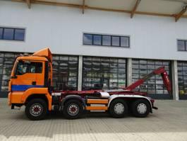 containersysteem vrachtwagen MAN TGS 41.440 8x4 BB Palfinger Knickarm Schalter