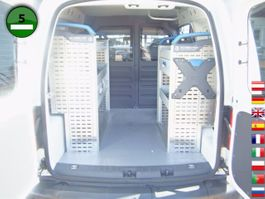 gesloten bestelwagen Volkswagen Caddy 1.6 TDI Werkstatteinbau KLIMA NAVI 2015