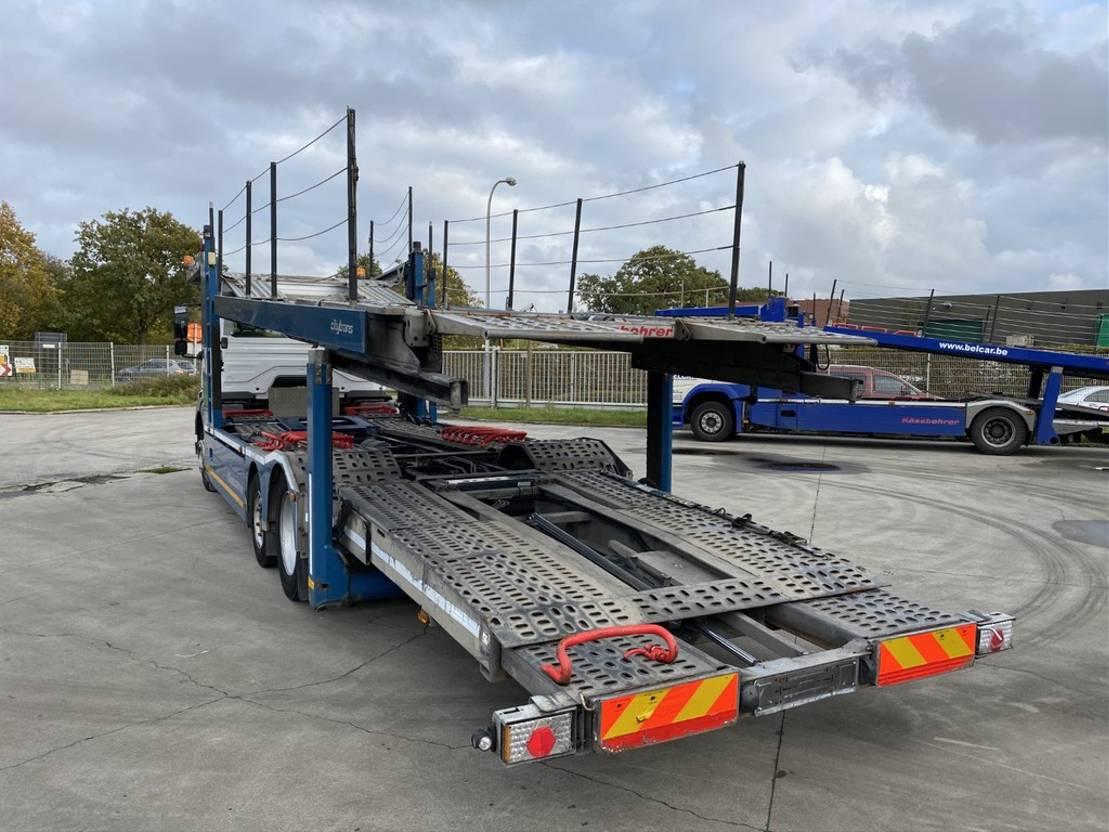 autotransporter vrachtwagen Mercedes Benz 1829 + KASSBOHRER CITYTRANS EURO 5 2011