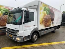 bakwagen vrachtwagen > 7.5 t Mercedes-Benz Atego 816 L bakwagen laadklep euro 5 2012
