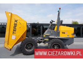 knikdumper Terex TA 9 1300 MTH ! like NEW , mini dumper , capacity 9,000kg , 4x4 2016