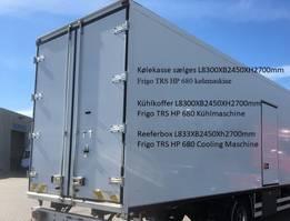 hoogwerker bedrijfswagen Frigo Kølekasse incl. maskine Frigo 2012