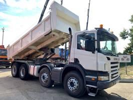 camion à benne basculante > 7.5 t Scania P 380 - 8x4 - 2-WAY TIPPER BORDMATIC / VOLQUETE - MANUAL GEARBOX - STEEL... 2007