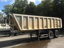 kipper oplegger General Trailers 22 M3 - STEEL SUSPENSION 2001