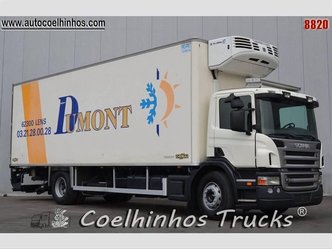 koelwagen vrachtwagen Scania P 310 2007