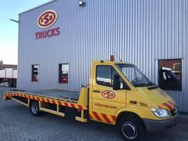 autotransporter vrachtwagen Mercedes Benz Mercedes  413 / Tijhof oprijwagen/ Autotransporter / 2006