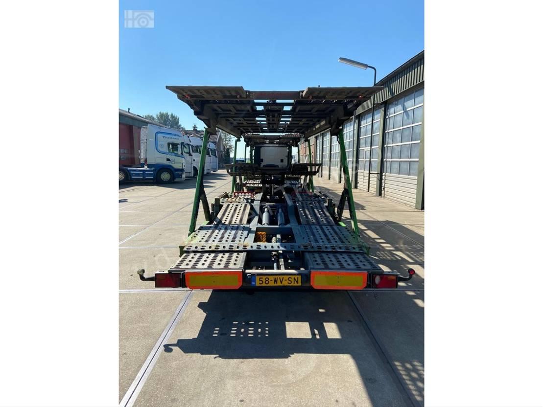 autotransporter vrachtwagen Iveco STRALIS 420 Kassbohrer SuperTrans - PKW Transporter 2012