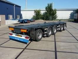 container chassis oplegger D-TEC CT-5305D - 53.000 Kg - 5 Axle - Nieuwe APK - Top conditie! 2003