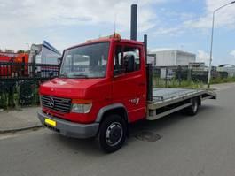 open laadbak vrachtwagen Mercedes Benz 814 VARIO OPRIJWAGEN / APK / TUV !! 2000