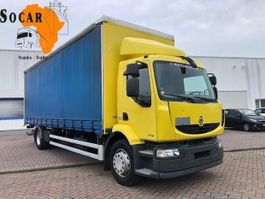 huifzeil vrachtwagen Renault MIDLUM 18.270 DXI 2012