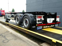 container chassis aanhanger Floor container aanhanger 2020
