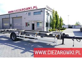 chassis aanhanger Ackermann Z-EAF 11/7 , BDF , chassis 7,2m , air suspension , BPW , 2 units 2016