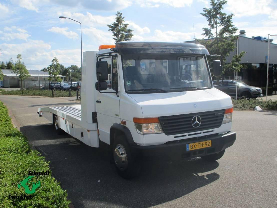 autotransporter vrachtwagen Mercedes Benz 816D 2007