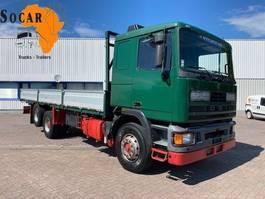 platform vrachtwagen DAF 95.350 Ten Tires / Full Steel 1990