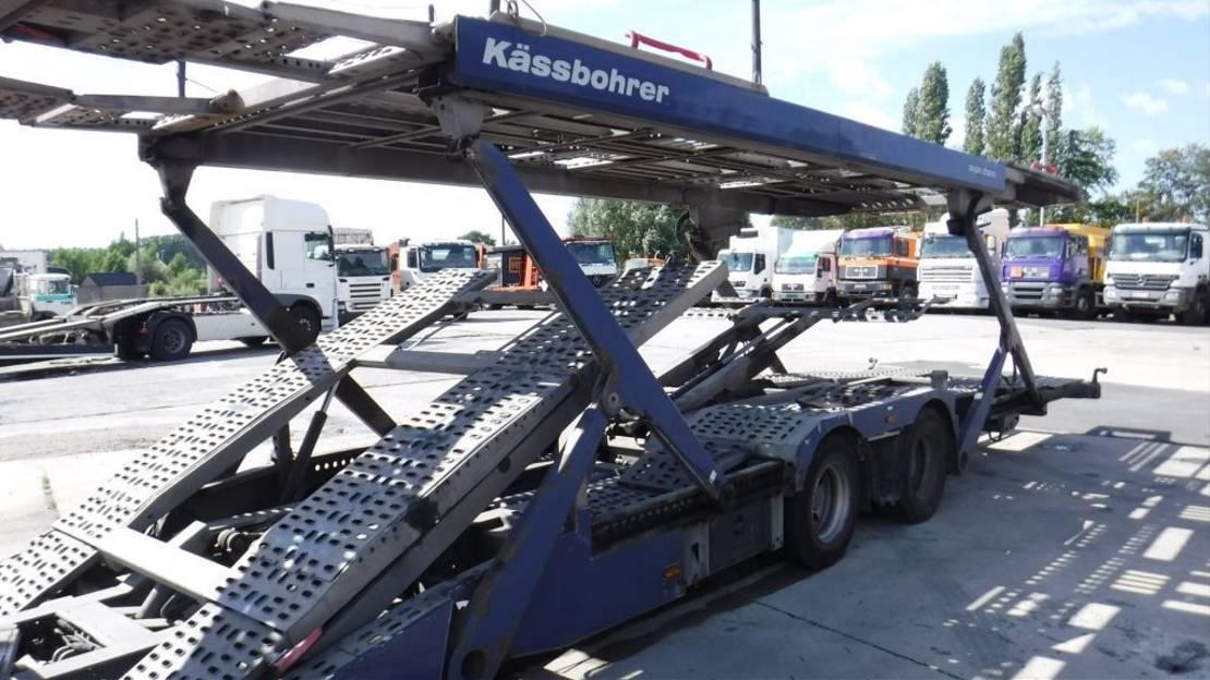 autotransporter vrachtwagen DAF cf75.360 2008