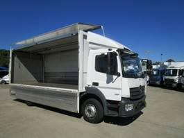 verkoop opbouw vrachtwagen Mercedes-Benz ATEGO 1221/1223 L GETRÄNKE-Koffer*EWERS*LBW 2 T 2014
