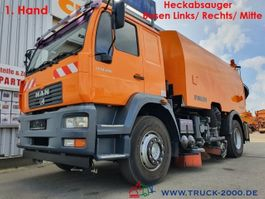 veegmachine MAN 18.280 Faun Viajet Besen Links/Rechts/Hecksauger 2005