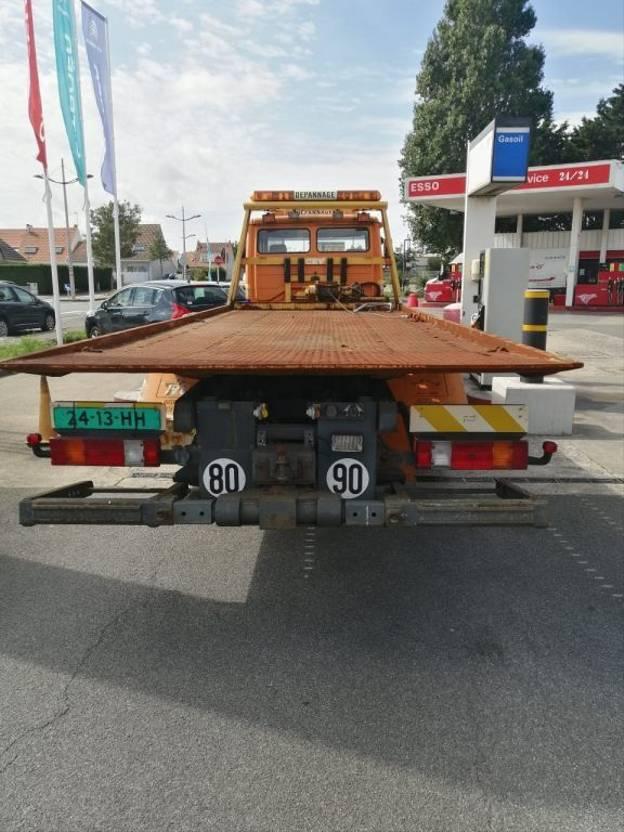 autotransporter vrachtwagen Mercedes-Benz 1524 ecoliner autotransporter 2000