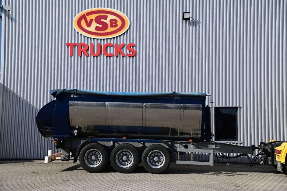 kipper aanhanger Diversen Kipper Hardox Steel BPW Axle 24 ton 2007