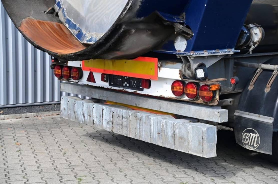 kipper aanhanger Kel-Berg Kipper Hardox Steel BPW Axle 24 ton 2004