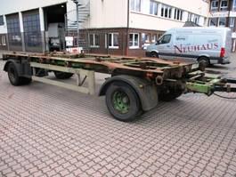 container chassis aanhanger Meiller K 18 ZB 5,0 Anhänger für ASK und ARK Mulden 2001