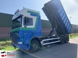 containersysteem vrachtwagen DAF XF 95 480 SSC 6x2 steelsuspension manual 2003