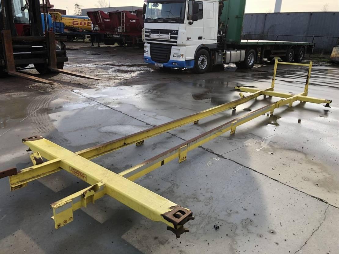 Wisselopbouw vrachtwagen onderdeel Diversen Afzet laadvloeren Chassis met twist-locks 2011