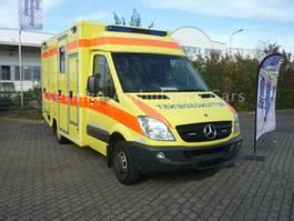 ambulance bedrijfswagen Mercedes-Benz 516 W.A.S. Koffer RTW viele Neuteile 2009
