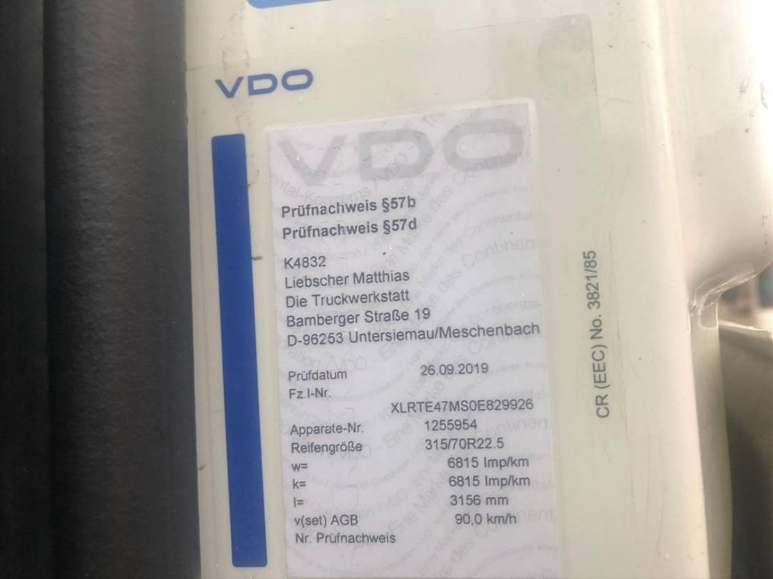 gevaarlijke stoffen trekker DAF XF410 Euro 5 Retader 2008