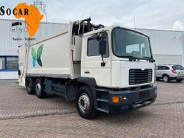 vuilkar camion MAN 25.284 6x2 Garbage truck 19m3 2001
