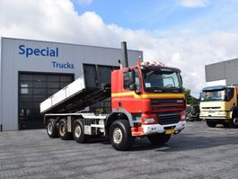 containersysteem vrachtwagen Ginaf X 4446 TS 8x8 + NCH 30T (Euro 5) 2008