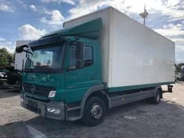bakwagen vrachtwagen > 7.5 t Mercedes-Benz Atego II 1224L , Euro-5, NAVI 2010