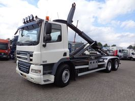 containersysteem vrachtwagen DAF CF 85.410 + Manual + PTO + Euro 5 + hook system 2007