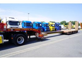 dieplader oplegger Faymonville STN-4AU , 4 axles , extended , stretched , max 15,80 x 3,23m , 2013