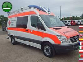 ambulance bedrijfswagen Mercedes-Benz Sprinter 315 CDI Delfis KLIMA Liege Stuhl Rettun 2009