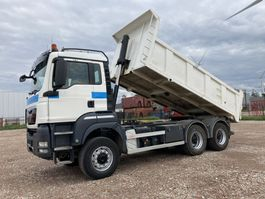 kipper vrachtwagen > 7.5 t MAN TGS 33.440 6X6 BLS  Wechsel- Kip/SZM Euro 5 Big axle 2011
