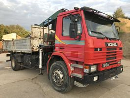 kipper vrachtwagen > 7.5 t Scania 93M **TIPPER+CRANE-FRENCH TRUCK** 1996
