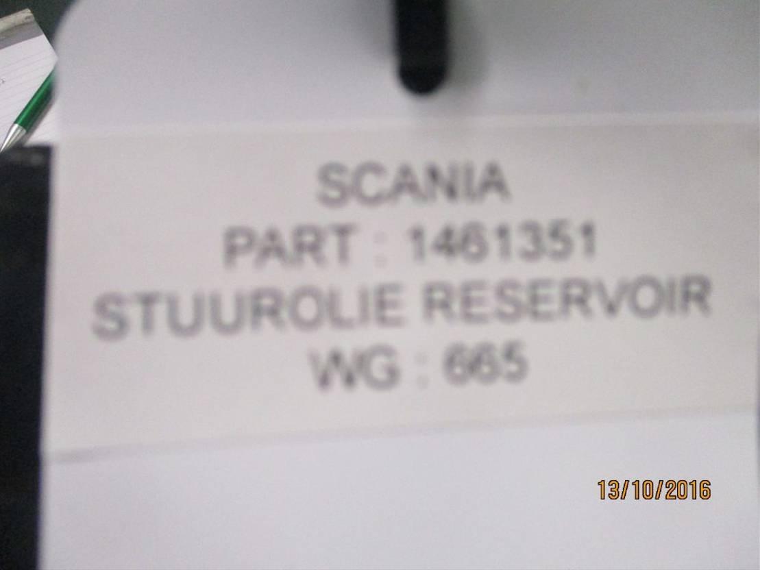 Stuurinrichting vrachtwagen onderdeel Scania 1461351 olie reservoir R 480