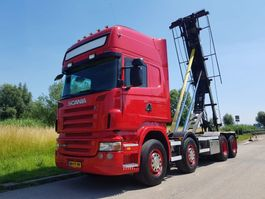 containersysteem vrachtwagen Scania R 480 8X2 NCH Manual Retarder 2008