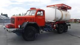 tankwagen vrachtwagen Magirus deutz 178d15  6x6 1971