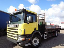 platform vrachtwagen Scania 114G.340 + Manual 2002