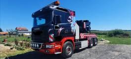takelwagen-bergingswagen-vrachtwagen Scania 124 400 6X2 TOW TRUCK - perfect 1999