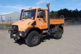 kipper vrachtwagen > 7.5 t Unimog U 140 - 4x4 - 79.455 Km - PTO VOOR + ACHTER - 3 - Z - KIPPER