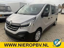 gesloten bestelwagen Renault traffic l2 dubcab automaat navi 170pk NIEUW 2020