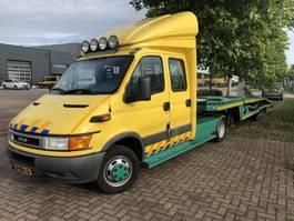 koelwagen bakwagen Iveco Iveco Daily 40C15  Autotransporter | BE-combi | Car transport | Recovery | Abschlepp 2003