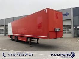 gesloten opbouw oplegger Renders 2 as X-Steer / Box / Laadklep / APK TUV 2011