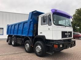 kipper vrachtwagen > 7.5 t MAN 41.372 8x4 full steel 1995