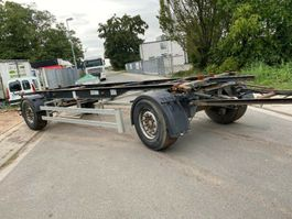 chassis aanhanger S-SERIE