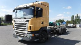 chassis cabine vrachtwagen Scania R440 2013