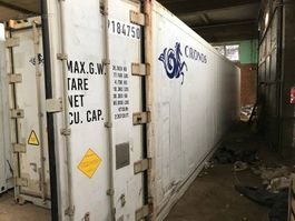 koel vries zeecontainer Carrier Koelcontainer 40 voet